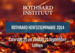 Rothbard Herfstseminarie