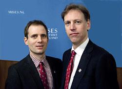 Jeroen de Witte en Frank Karsten