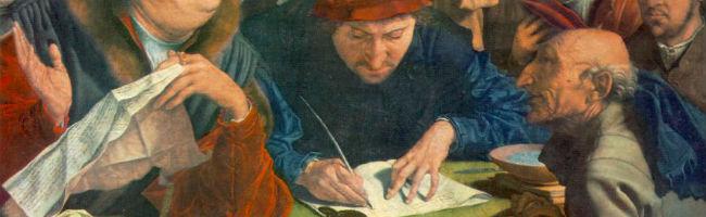 Reymerswaele (1542) - Belastingontvangers